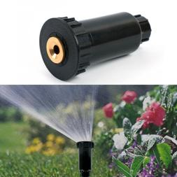 "1/2"" Adjustable Plastic Pop up Sprinklers 90-360 degree Lawn"
