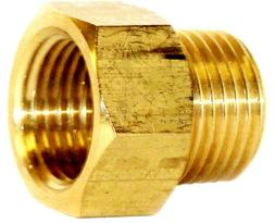 "1/2"" NPT Male x 1/2"" NPT Female Brass Adapter Fire Sprinkler"