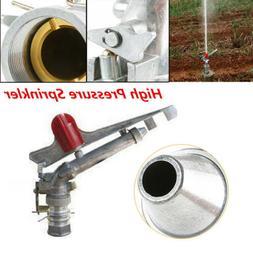 "1.5"" 360° Adjustable Impact Sprinkler Long Range Water Irri"