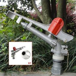 1.5'' Irrigation Spray Gun Sprinkler Gun Large 360° Adjusta