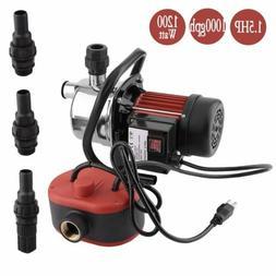 "1.5HP 1"" Sprinkler Jet Pump High Pressure Water Garden Pump"