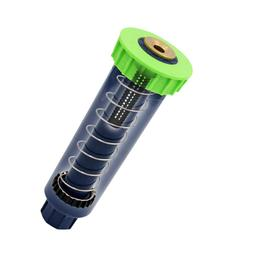 1 Pc Plastic Pop-Up Sprinklers with Brass Nozzle Cooling Gar