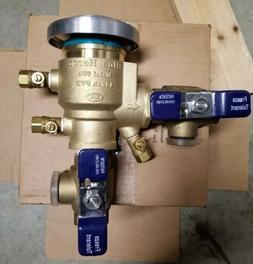 """Blue Heron 1"""" Pressure Vacuum Backflow Assembly Lead Free Ir"""
