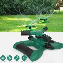 360° Auto Garden Lawn Sprinkler System Water Patio Yard Hos