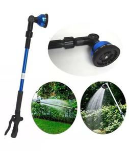 10-Pattern Telescoping Water Wand Hose Nozzle Irrigation Spr