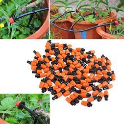 100pcs Garden Sprinkler Micro Irrigation Adjustable Single-h