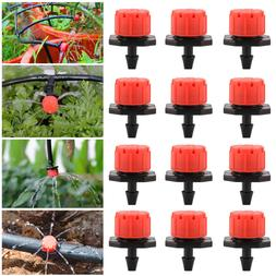 100X Adjustable Emitter Dripper Micro Drip Irrigation Sprink