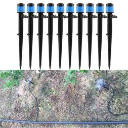 10X Micro 360° Garden Sprinkler Irrigation Fitting Adjustab