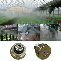 10pcs Brass Low Pressure Atomization Tap Water Fog Mist Nozz