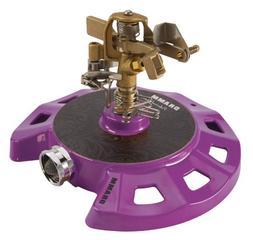 Dramm 15087 Circular Base Impulse Sprinkler with a Heavy-Dut