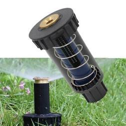180° Popup Spray Head Sprinklers Nozzle Watering Lawn Garde