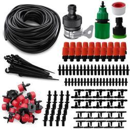 184PCS DIY Micro Drip Irrigation System Garden Plant Self Wa