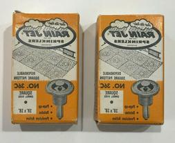 2 EMPTY Vintage Rain Jet Sprinklers No.36C Boxes Only
