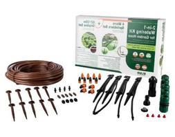 Elgo 2-in-1 Watering Kit Sprinklers & Drip Line Set Garden E