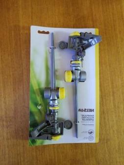 2 pk Nelson Rainpulse pulsating sprinkler w metal spike base