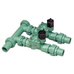 2-Valve Inline Manifold Assembly Sprinkler Manifolds UV-Resi