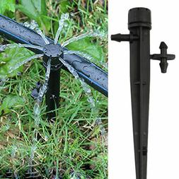 20/40Pcs Micro Sprinkler Drip Irrigation Adjustable Emitter
