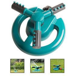 2018 NEW 360° Lawn Circle Rotating Water Sprinkler Garden H