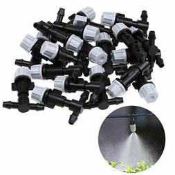 20pcs irrigation sprinkler heads nozzle tee joints
