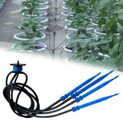 20PCS  Irrigation System Watering Sprinkler Hose Micro Drip