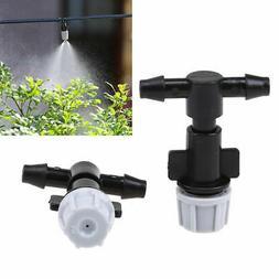 20pcs Sprinkler Heads Nozzle & Tee Joints Garden Mist Wateri