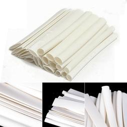 20Pcs White Assortment Heat Shrink Tubing Kits Tube Sleeving