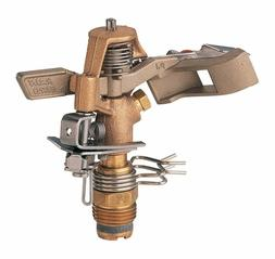 Rain Bird 25PJDAC Brass Impact Sprinkler, Adjustable 20° -