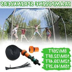 26-49.2ft Trampoline Sprinkler, Outdoor Water Play Sprinkler