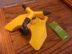ORBIT 3 Arm Whirling Watering Sprinkler Adustable~Yellow--NE