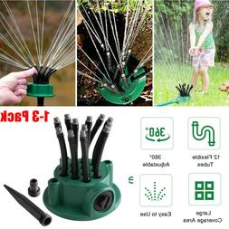 360° Automatic Rotating Lawn Sprinkler Garden Grass Waterin