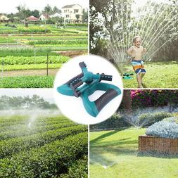 360° Automatic Rotating Lawn Sprinkler System Garden Wateri