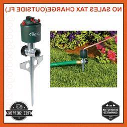360 Degrees Adjustable Lawn Sprinkler Spike Orbit Garden Rot