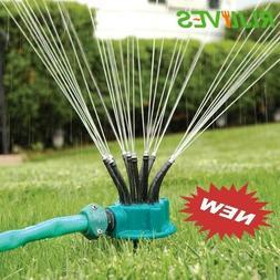 360 Degrees Sprinkler Automatic Multihead Garden Tools Irrig