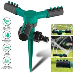 360° Flexible 12 Tubes Garden Yard Lawn Water Sprinkler Wat