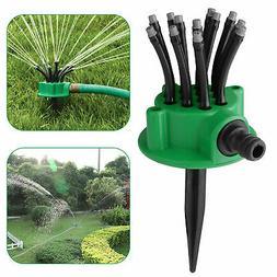 360 lawn sprinkler head automatic garden yard