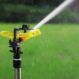 360° Lawn Water Sprinkler Automatic Garden Irrigation Agric