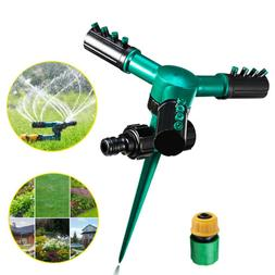 360° Rotating Lawn Sprinkler Automatic Garden Water Sprinkl
