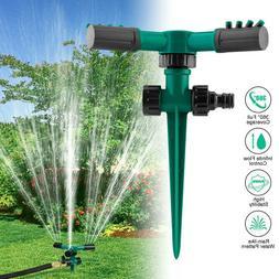 360° Rotating Lawn Sprinkler Automatic Garden Water Sprinkl