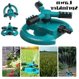 360° Rotating Lawn Sprinkler System Automatic Garden Water