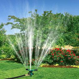 360° Rotation Lawn Sprinkler Automatic Garden Glass Water S