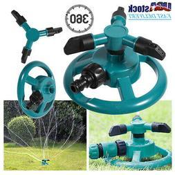 360° Sprinkler Automatic Rotating Water Sprinklers for Gard