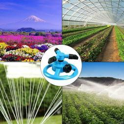 360° Watering Sprinklers System 3-blade Propeller Garden La