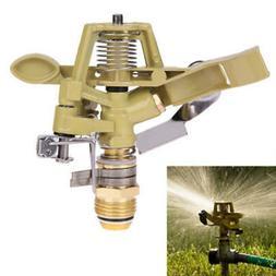 360° Rotary Zinc Alloy Water Irrigation Sprayer Sprinkler F