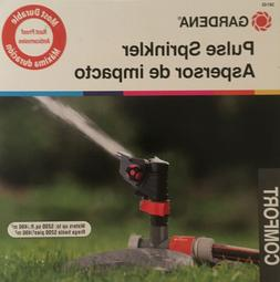 Gardena 38142 Classic Impulse Sprinkler on Weighted Sled Bas