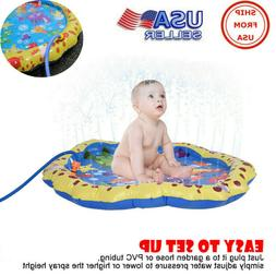 38in Diameter Sprinkle Splash Play Mat Outdoor Party Water S