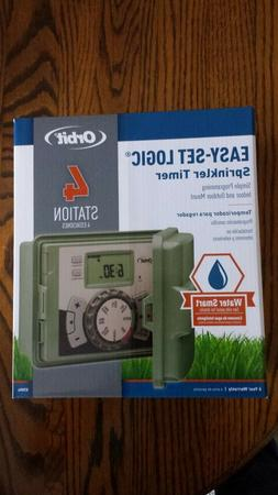 ORBIT 4 STATION SPRINKLER TIMER  57894  BRAND NEW IN THE BOX