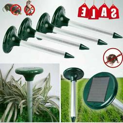 4Pack Rotatable Spike Water Watering Lawn Sprinkler Sprayer