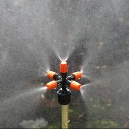 5-head Micro Irrigation System Fog Mist Cooling Nozzle Hand