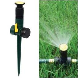 5 Pack Multi - Adjustable Spike Lawn Sprinkler Spray Water G