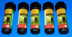 5 Pack Of Rain Bird 42SA Professional Grade Sprinkler Rotor